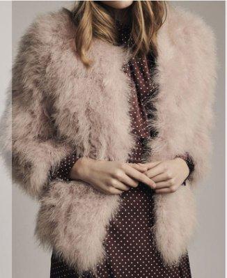 正韓 貴婦皮草 真鴕鳥毛 性感九分袖外套小香風 保暖合身 毛料上衣 長袖針織毛衣 外套 風衣 蕾絲 洋裝 連身裙 狐狸毛 貂毛 兔毛
