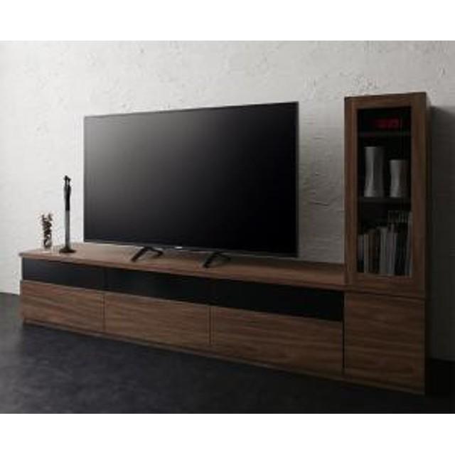 キャビネットが選べるテレビボードシリーズ add9 アドナイン 2点セット(テレビボード+キャビネット) ガラス扉 幅180