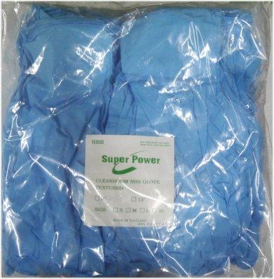 【莫瑞絲】NBR無粉電子無塵12吋手套(藍色)~50雙/包,特價380元~耐油手套 檢驗手套 工作手套