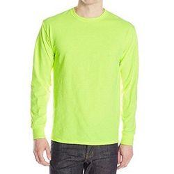 美國國民 2017男時尚彈性針織安綠色長袖圓領ㄒ恤(預購)