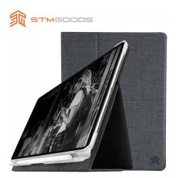 澳洲【STM】Atlas 系列 iPad Pro 11吋專用 高質感翻蓋平板保護殼 (碳灰)