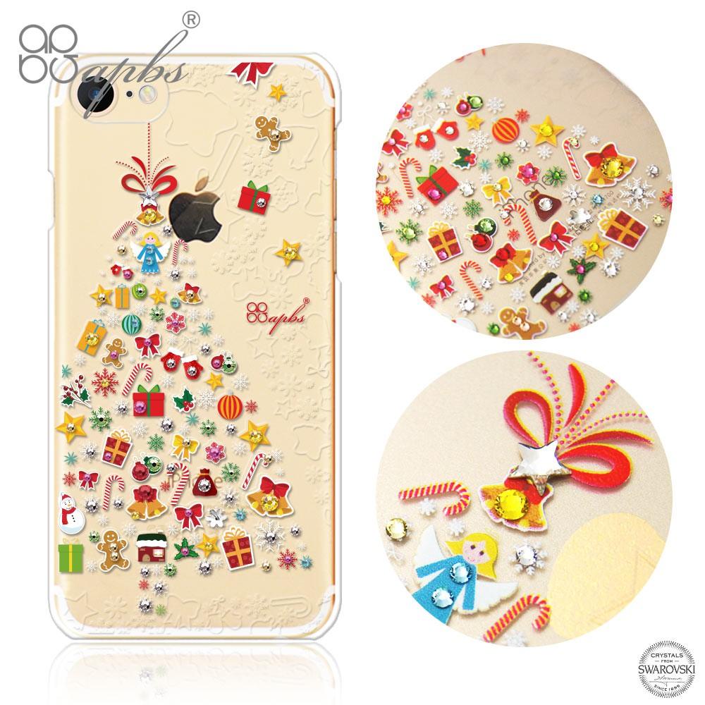 apbs iPhone SE (2020) / 8 / 7 4.7吋施華洛世奇彩鑽手機殼-歡樂樹
