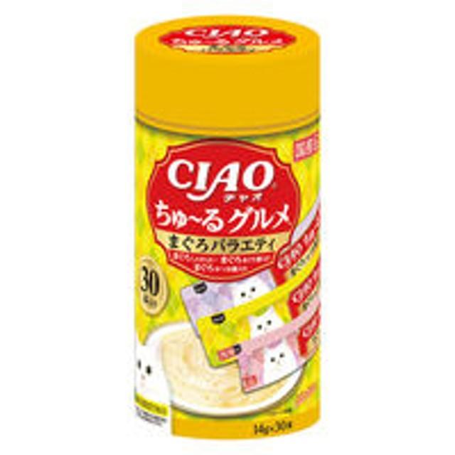 いなば CIAO ちゅーる 猫用 グルメ まぐろバラエティ(14g×30本)1個 国産<ちゅ~る>