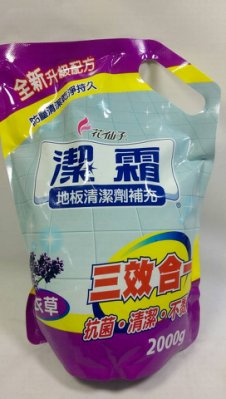 【八八八】e網購~【潔霜地板清潔劑補充 2000g 薰衣草】083017