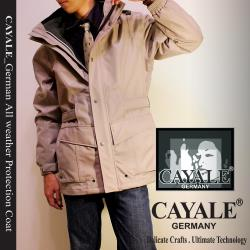 CAYALE_卡亞利 德國SympaTex 尊榮頂尖防護 機能外套《二件式》