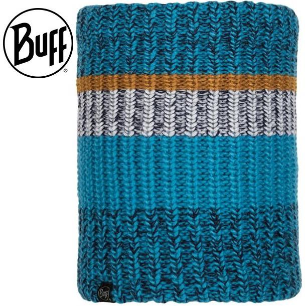Buff 保暖頸圍/圍巾/脖圍/針織保暖領巾 Stig 117861 706 滄海藍