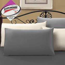 J-bedtime 時尚系列-防水透氣網眼布枕頭專用保潔枕墊(使用3M吸濕排汗藥劑)-多色可選