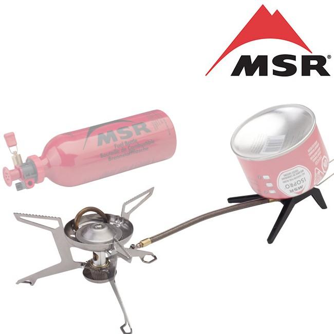 MSR 多燃料汽化爐/汽化爐/瓦斯爐/蜘蛛爐 WhisperLite Universal 06630