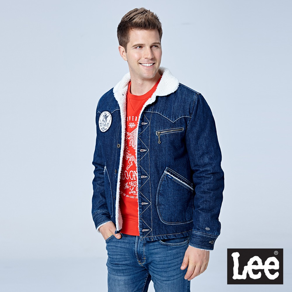 Lee 毛尼牛仔外套