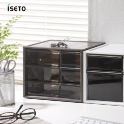 日本ISETO 日製桌上分類抽屜收納盒-S