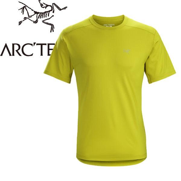 【ARC TERYX 始祖鳥 男款 Velox快乾短袖圓領衫《沼澤黃》】20987/圓領T恤/排汗衣/運動衫
