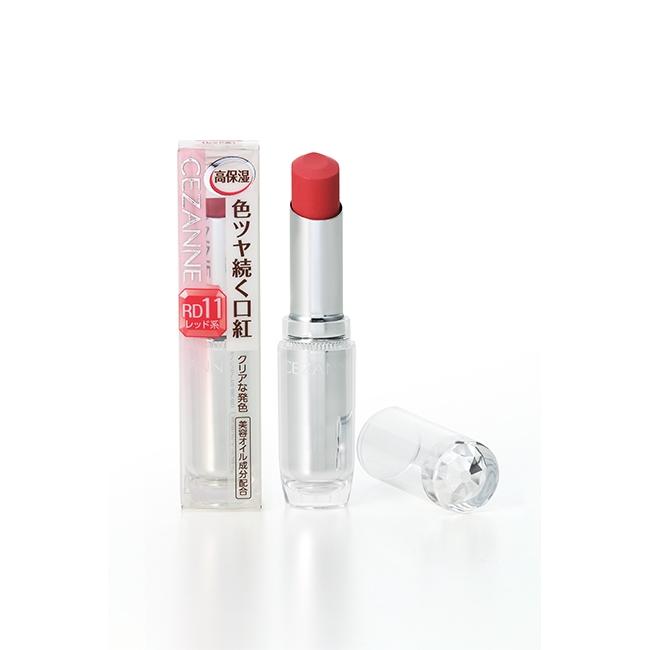 商品規格 商品簡述:CEZANNE 持久潤澤唇膏 365-RD11 規格:3.2G 原產地:日本 深、寬、高:1.8x2x8.3 保存環境:室溫 有效期限:5年