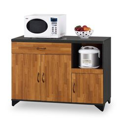 【時尚屋】[NM7]海灣4尺餐櫃下座NM7-206-3免組裝/免運費/餐櫃