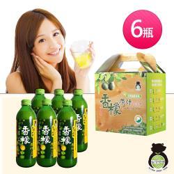 【台灣好田】香檬原汁300ml X6瓶
