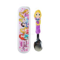 【SuperBO】3D造型湯匙-長髮公主(附盒)