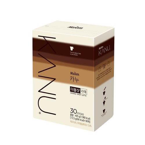 [MAXIM] KANU DOUBLE SHOT 拿鐵咖啡 (13.5gX30入) [韓國直送]