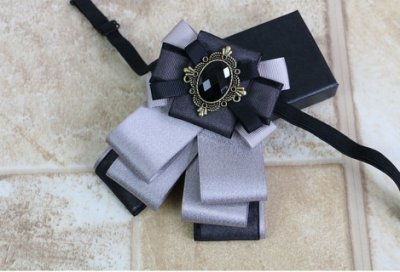 領結╭☆°安可小舖*高檔英倫蝴蝶結胸針胸花結婚新郎領結表演糾糾宴會領花,售價280元