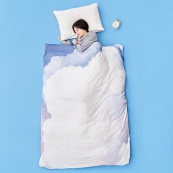 YOU+MORE! 朝焼け雲の中で眠る ふわふわ雲のシャーリング布団カバー フェリシモ FELISSIMO【送料無料】