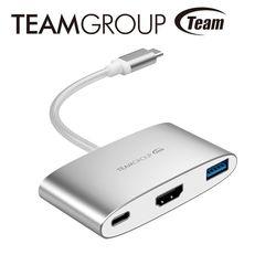 TEAM十銓科技 Type C 3合1 HUB轉接器 TWT01