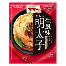 日清フーズ マ・マー あえるだけパスタソース からし明太子 生風味 〈1人前(24g)×2袋入り〉 ×1個