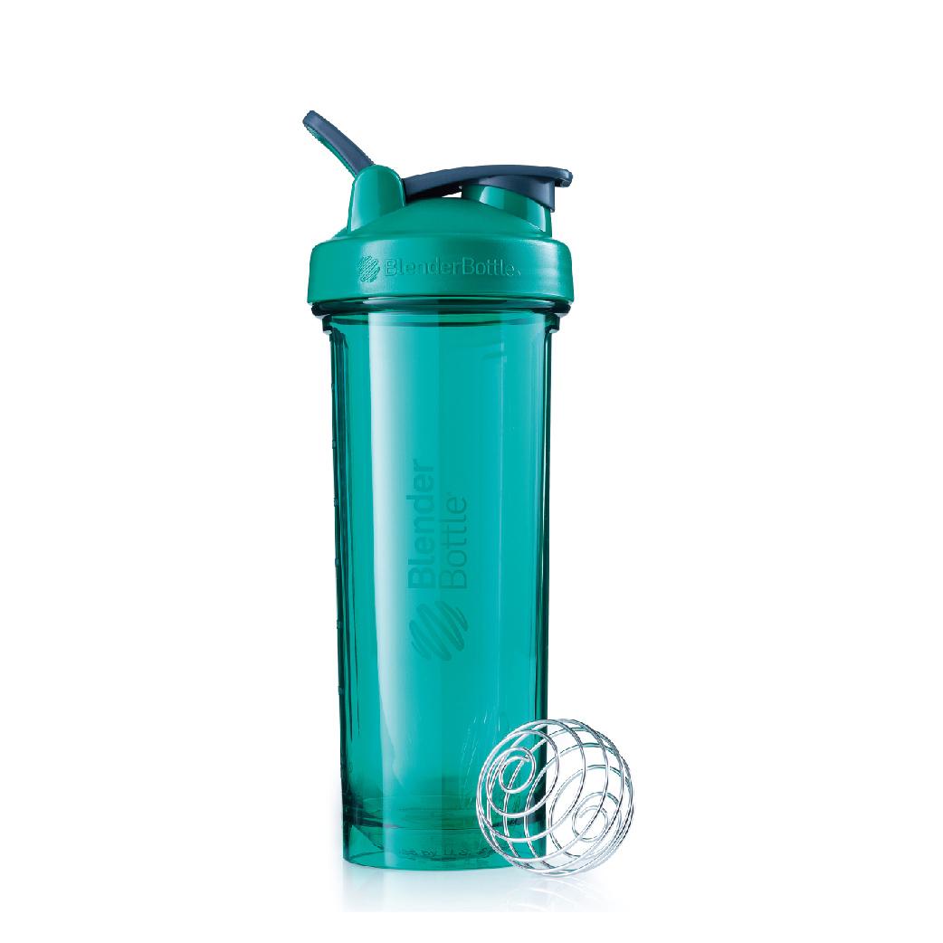 [Blender Bottle] Pro32大容量搖搖杯(940ml/32oz)-湖水綠