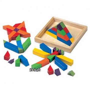World - Zebra 幼教玩具 - 益智彩虹藝術積木