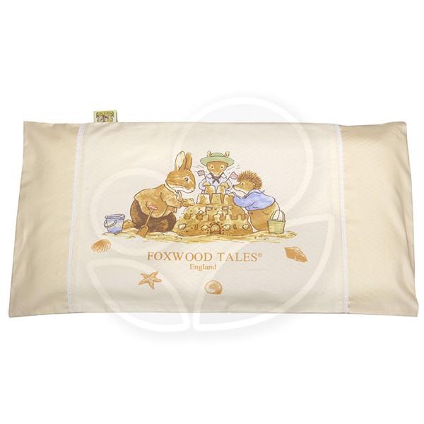 FoxwoodTales 狐狸村傳奇 彈力舒壓透氣嬰兒枕(米)【佳兒園婦幼館】