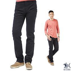 【即將斷貨】NST Jeans 黑色奧古斯丁 輕薄微彈休閒褲(歐系修身小直筒) 380(2003)