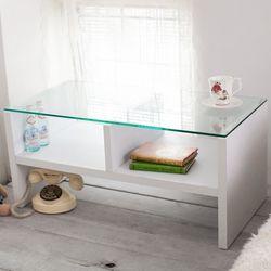 【澄境】二代經典強化玻璃雙格茶几桌 和室桌 邊桌 矮桌 -二色可選