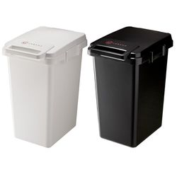 日本 URBANO 北歐風 連結式垃圾桶 45L - 共兩色