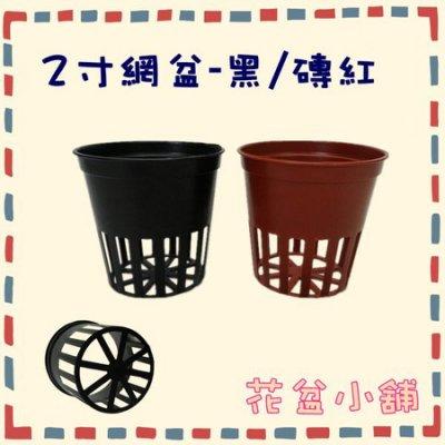 【花盆小舖】2寸水草網盆(水耕栽培網盆)--黑色(50個/組)水草盆 魚菜共生 管耕 水耕盆