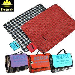 布特Botack印花植絨墊野營防潮墊防水鋁墊防水野餐墊 LMT3-9125