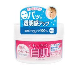 日本COSMO 胎盤素白肌瞬效面膜 (130g/瓶)