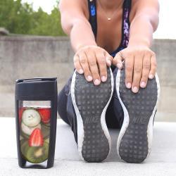 MOUS澳洲Fitness運動健身搖搖隨身杯(黑色)