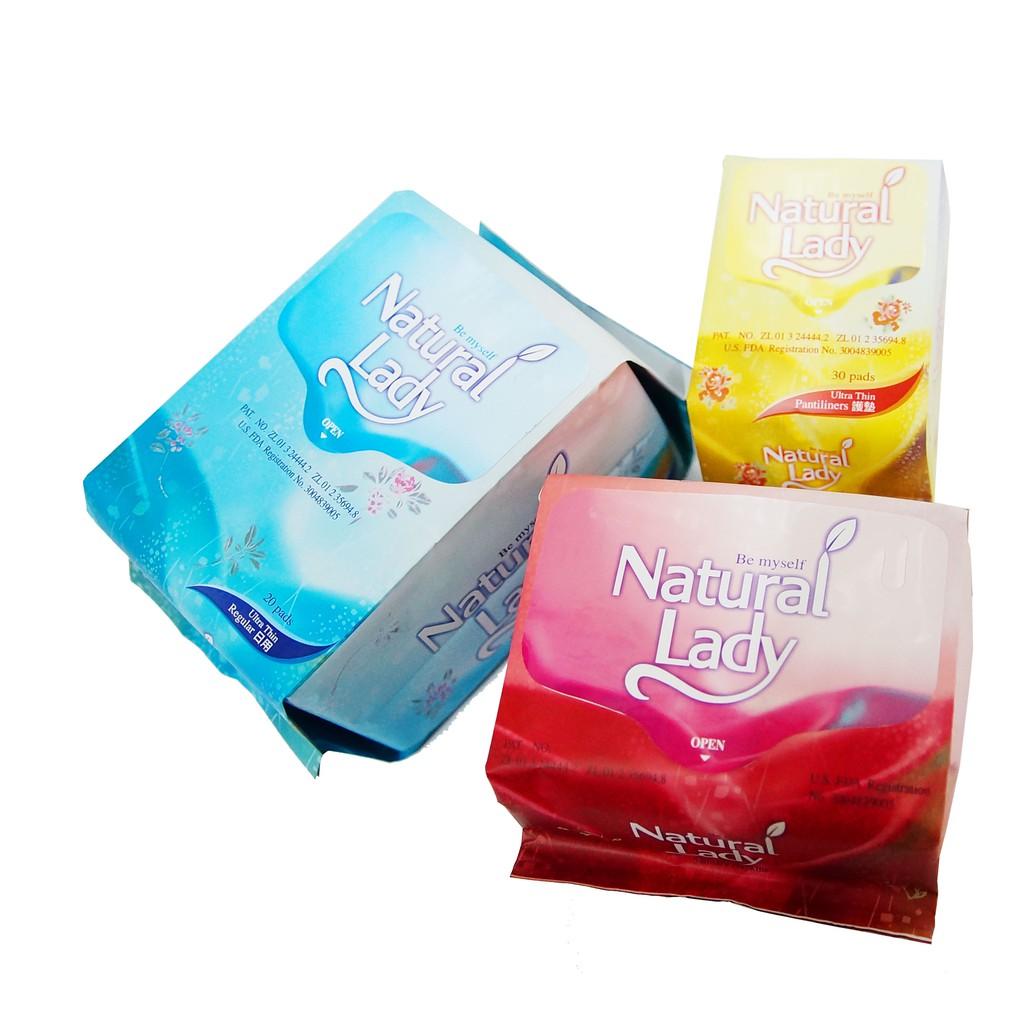 Natural Lady漢方保健衛生棉-自選搭配