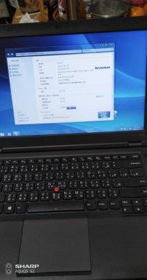 賣可小舖】Lenovo ThinkPad T440P I5-4300M/4G/128G SSD/W7P/中
