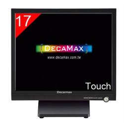 DECAMAX 17吋 五線電阻 觸控顯示器  YE1750TOUCH-R