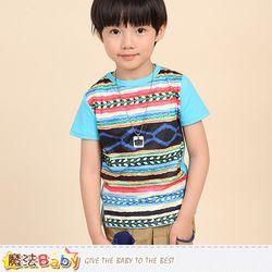 魔法Baby 短袖T恤 兒童圖T 男女童裝~k50291