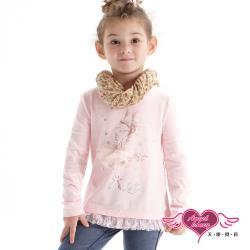 天使霓裳-童裝 芭蕾女孩 兒童長袖T恤上衣(粉) J1101364