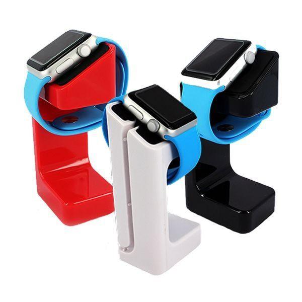 Apple Watch 1/2/3/4 通用 充電底座 充電座 手錶 充電支架 3色可選