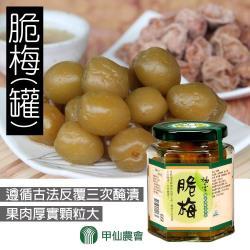 甲仙農會-脆梅-200g-罐  (3罐一組)