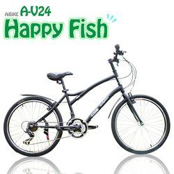 AiBIKE SHIMANO 24吋27速 開心魚大徑車 大徑車