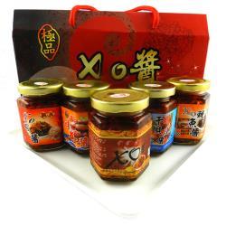 饗讚 海味大集合極鮮XO醬禮盒3盒(170公克3罐/盒.共9罐)