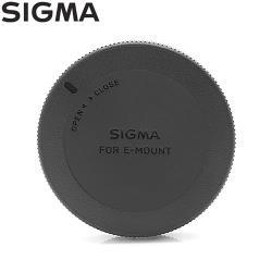 適馬原廠Sigma鏡頭後蓋LCR-SE II(相容Sony鏡頭後蓋ALC-R1EM鏡頭背蓋尾蓋適索尼E-mount接環NEX鏡頭)