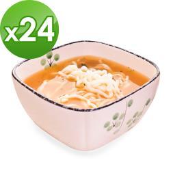 樂活e棧 低卡蒟蒻麵 燕麥拉麵+濃湯(共24份)