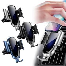 Baseus 玻璃鏡面設計重力車用支架(未來版)