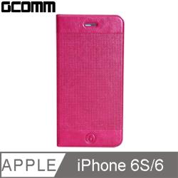 GCOMM iPhone 6S/6 Embossed Dots 時尚圓點超纖皮套 嫩桃紅