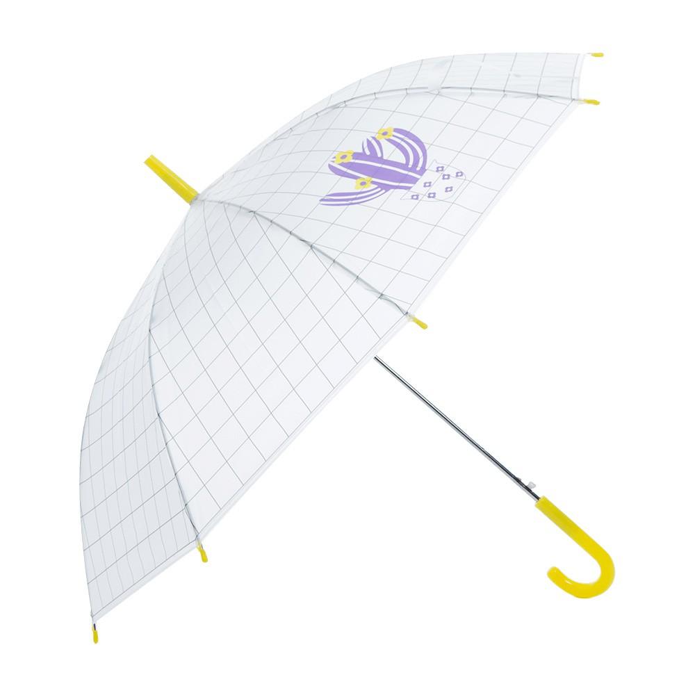 麗尚秀 多肉質物系列 日系仙人掌塗鴉長柄直傘《黃》晴雨傘 太陽傘 遮陽傘 雨傘 防潑水 自動傘 彎把傘【FA226】