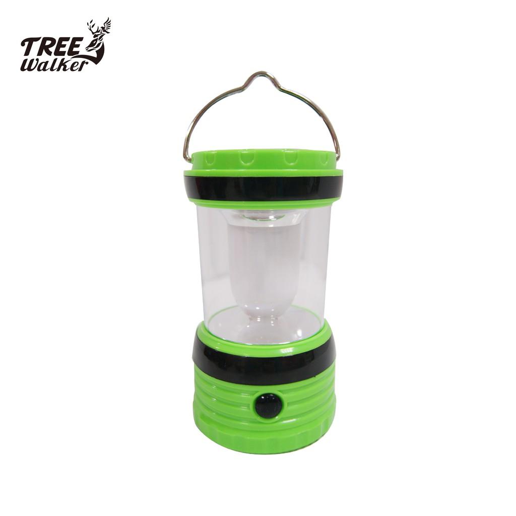 【Treewalker露遊】輕巧手提太陽能露營燈 USB 白燈高亮度 夜遊 帳篷燈 緊急照明燈 按壓式
