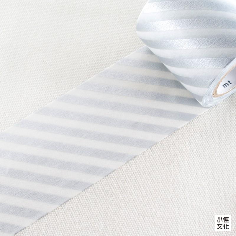 【mt】日本進口 2017 ss CASA Tape DECO 50mm 系列 和紙膠帶- 斜紋銀 (MTCA5106)
